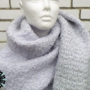 "Asymmetrical colours scarf / Szal ""Niesymetryczne kolory"" by Tender December"