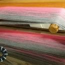 """""""Painted with cotton"""" shawl / Szal """"Malowane bawełną"""" by Tender December"""