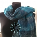 """Denim"" scarf by Tender December"
