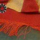 Red stripes scarf / Szalik w czerwone pasy by Tender December, Alina Tyro-Niezgoda,
