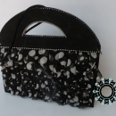 A purse with ruffles / Torebka z falbankami by Tender December, Alina Tyro-Niezgoda,