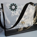 Transparent everyday purse / Przezroczysta torebka na co dzień by Tender December, Alina Tyro-Niezgoda,