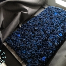 "Blue rose bag / Torebka ""Granatowa róża"" by Tender December, Alina Tyro-Niezgoda,"