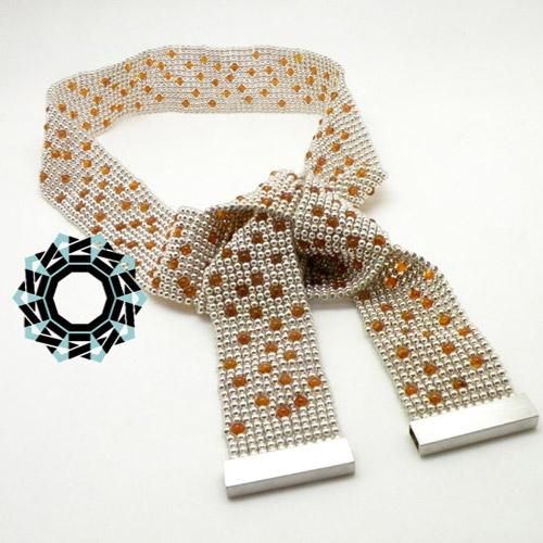Amber necklace / Bursztynowy naszyjnik by Tender December, Alina Tyro-Niezgoda