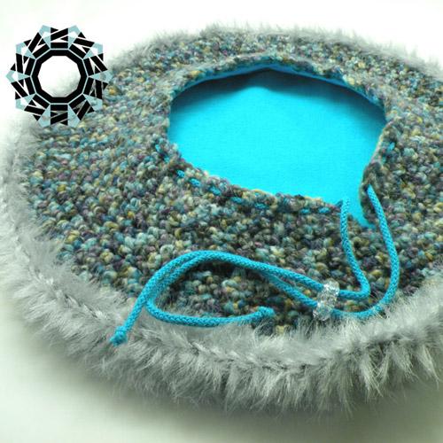 Hood-hat / Kapturo-beret by Tender December, Alina Tyro-Niezgoda