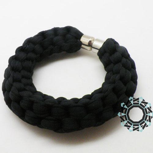 Cotton recycling (black) / Bawełniany recycling (czarna) by tender December, Alina Tyro-Niezgoda