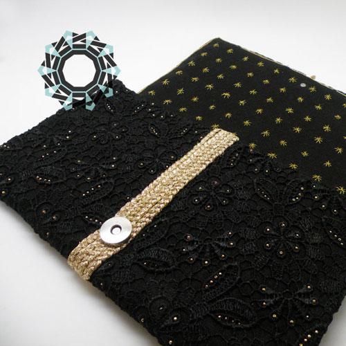 Lace clutch bag / Koronkowa torebka by Tender December, Alina Tyro-Niezgoda