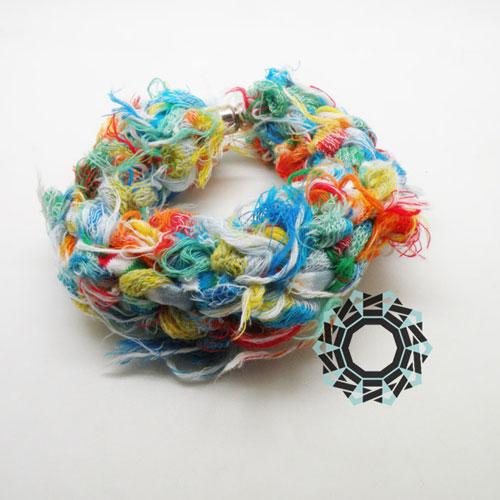 Cotton recycling / Bawełniany recycling by tender December, Alina Tyro-Niezgoda