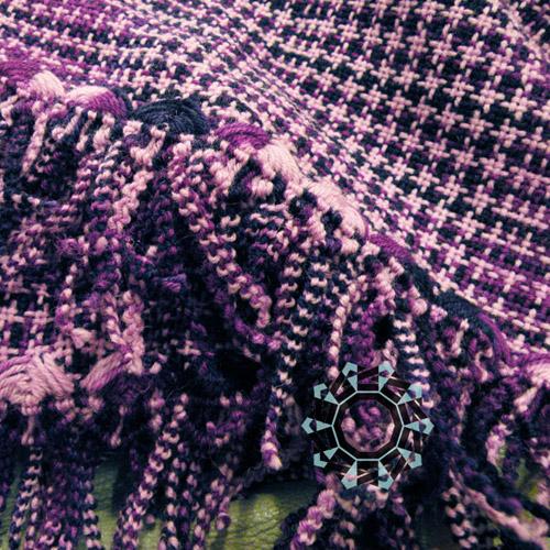 Purple scarf / Fioletowy szalik by Tender December, Alina Tyro-Niezgoda