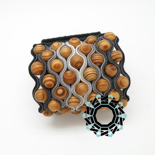 Soutache bracelet / Bransoletka soutache by Tender December, Alina Tyro-Niezgoda