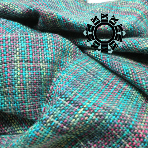 Multi-coloured scarf / Wielokolorowy szalik by Tender December, Alina Tyro-Niezgoda