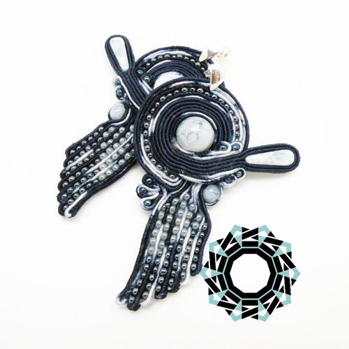 Soutache earrings / Kolczyki soutache by Tender December, Alina Tyro-Niezgoda