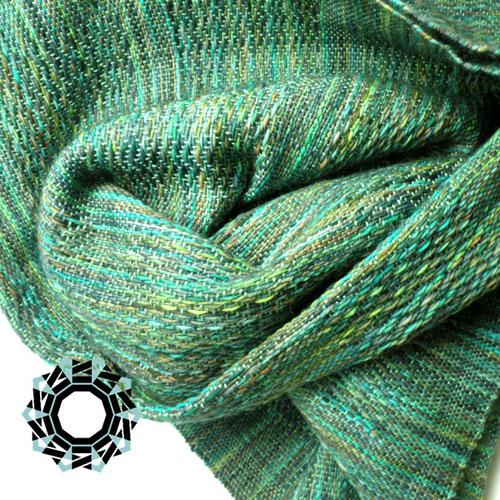 Green scarf / Zielony szalik by Tender December, Alina Tyro-Niezgoda
