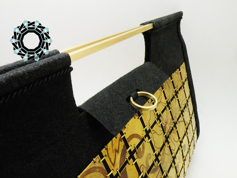 Evening metal purse / Wieczorowa torebka z metalu by Tender December, Alina Tyro-Niezgoda