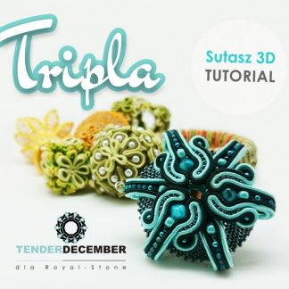"Tutorial: 3D earrings ""Tripla"" by Tender December, Alina Tyro-Niezgoda"
