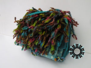 """Floki"" turquoise bag / Turkusowa torebka ""Floki"" by Tender December, Alina Tyro-Niezgoda"