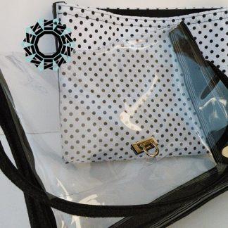 Transparent everyday purse / Przezroczysta torebka na co dzień by Tender December, Alina Tyro-Niezgoda