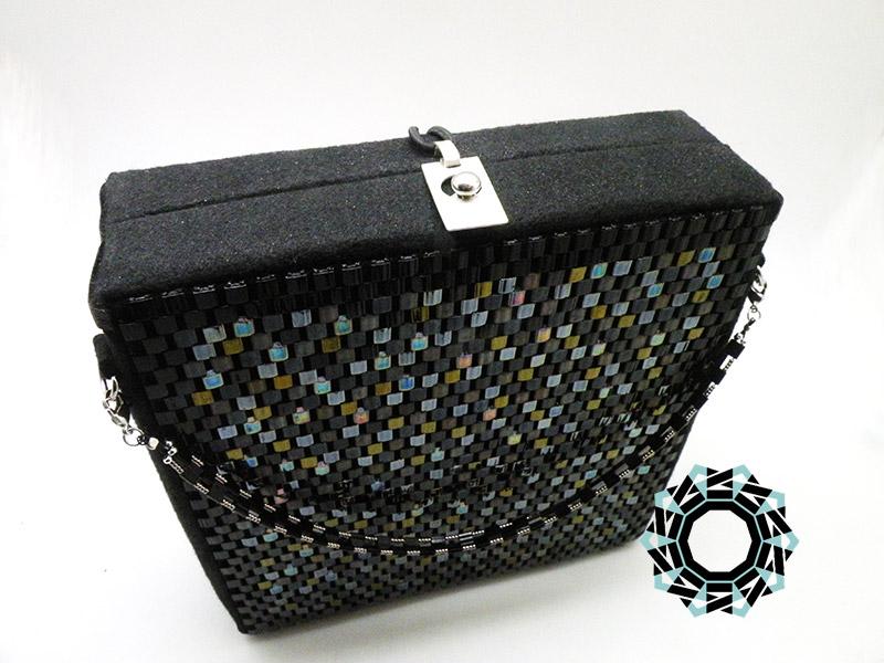 Square mosaic purse / Kwadratowa torebka z mozaiki by Tender December, Alina Tyro-Niezgoda