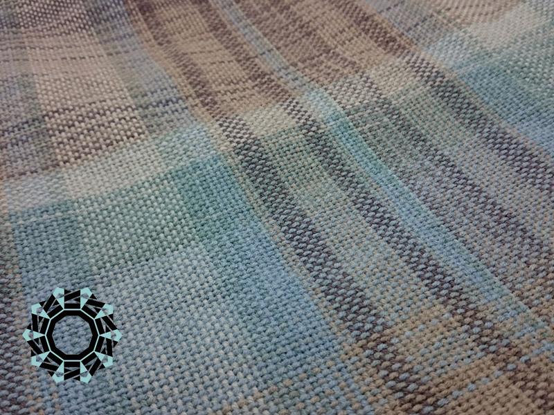 Cotton melange scarf / Bawełniany melanż, szalik by Tender December, Alina Tyro-Niezgoda
