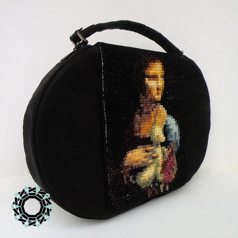 """Great art"" purse / Torebka ""Wielka sztuka"" by Tender December, Alina Tyro-Niezgoda"