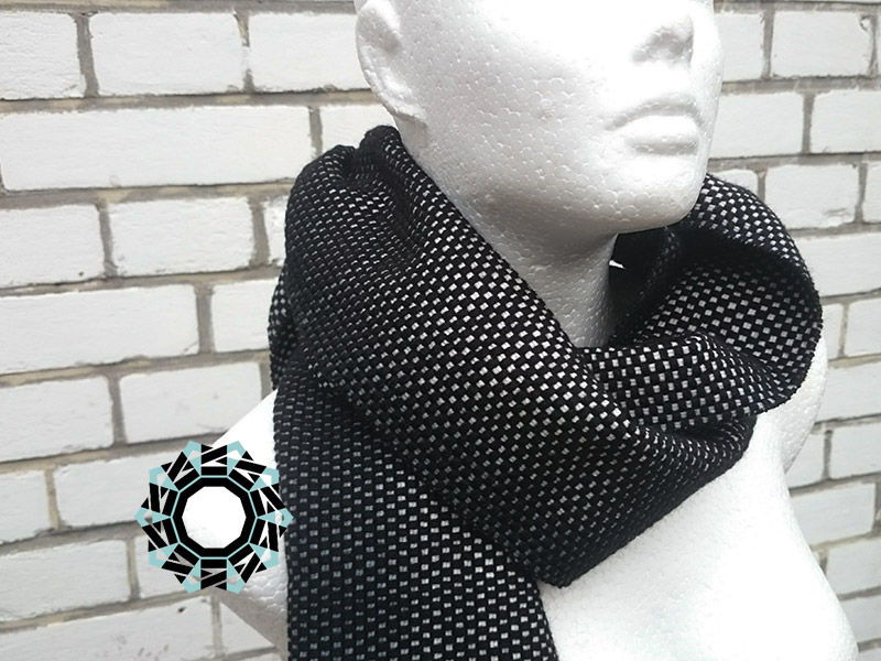 Gray-black panama / Panama szaro-czarna by Tender December, Alina Tyro-Niezgoda
