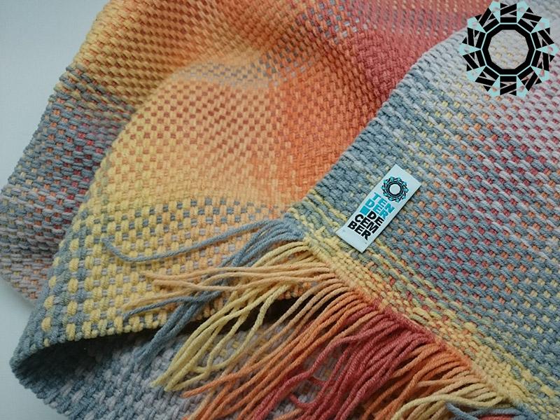 Gray-orange Panama / Panama szaro-pomarańczowa by Tender December, Alina Tyro-Niezgoda