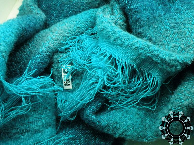 XL mohair shawl / Moherowy szal XL by Tender December, Alina Tyro-Niezgoda