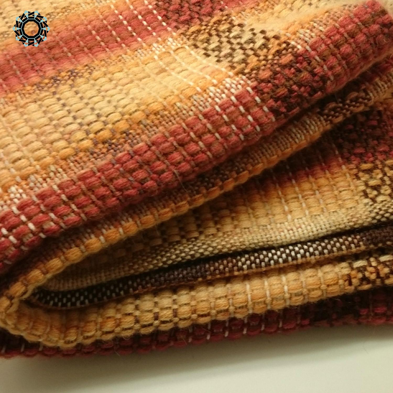 Mohair scarf in stripes / Szalik moherowy w pasy by Tender December, Alina Tyro-Niezgoda