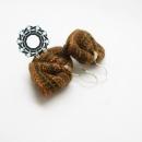 Bronze earrings / Brązowe kolczyki by Tender December, Alina Tyro-Niezgoda,