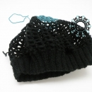 Fluffy blue cap /Puchata czapka niebieska Tender December, Alina Tyro-Niezgoda,