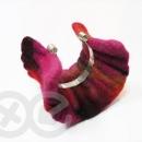 Felt jewerly / Filcowa biżuteria by Tender December, Alina Tyro-Niezgoda,