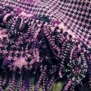 Scarf with embroidered motif / Szalik haftowany by Tender December, Alina Tyro-Niezgoda
