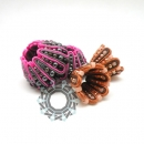 3D geometry soutache by Tender December, Alina Tyro-Niezgoda