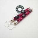 Plaid pattern earrings / Kolczyki w kratkę by Tender December, Alina Tyro-Niezgoda,