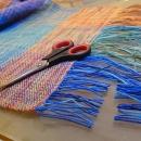 3-colour scarf by Tender December, Alina Tyro-Niezgoda