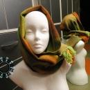 Rainbow scarf / Tęczowy szalik by Tender December, Alina Tyro-Niezgoda