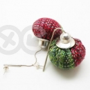Examples of woven jewelry / Przykłady tkanej biżuterii by Tender December, Alina Tyro-Niezgoda,