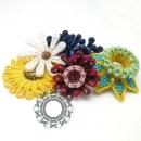 Floral 3D soutache by Tender December, Alina Tyro-Niezgoda