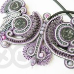 Soutache necklace / Naszyjnik soutache by Tender December, Alina Tyro-Niezgoda