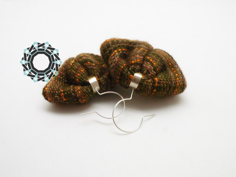 Brown earrings / Brązowe kolczyki by Tender December, Alina Tyro-Niezgoda