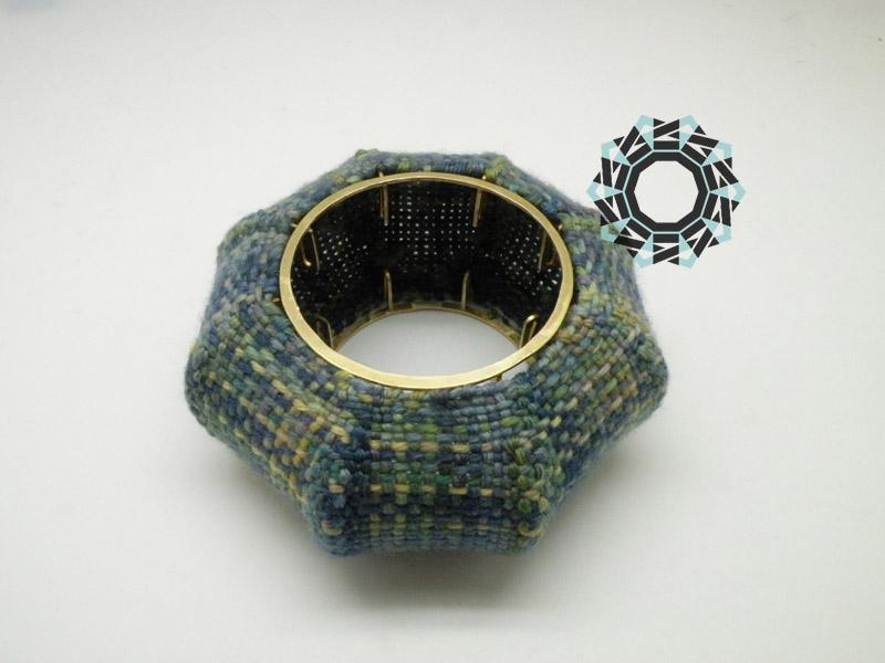 Woven bracelet / Tkana bransoleta by Tender December, Alina Tyro-Niezgoda