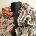 Spring scarves / Wiosenne szaliki by Tender December, Alina Tyro-Niezgoda