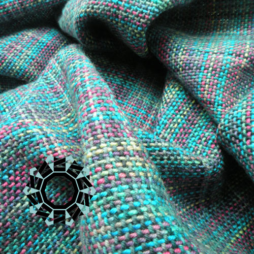 Multi-coloured scarves / Wielokolorowe szaliki by Tender December, Alina Tyro-Niezgoda