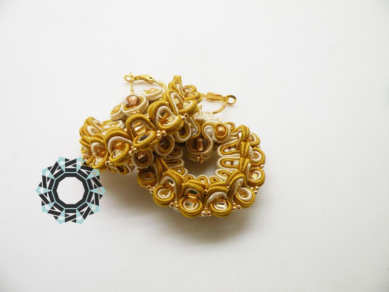 """""""Echinoderm"""" earrings / Kolczyki """"szkarłupnie"""" by Tender December, Alina Tyro-Niezgoda"""