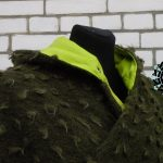 A green cape / Zielona peleryna by Tender December, Alina Tyro-Niezgoda