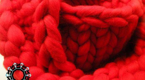 Mega-scale scarf / Szalik Mega skala by Tender December, Alina Tyro-Niezgoda