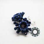 Floral soutache / Sutasz kwiatowy by Tender December, Alina Tyro-Niezgoda