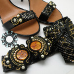 Woven beaded belt / Tkany pasek by Tender December, Alina Tyro-Niezgoda