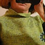 Woven blouse / Tkana bluzka by Tender December, Alina Tyro-Niezgoda