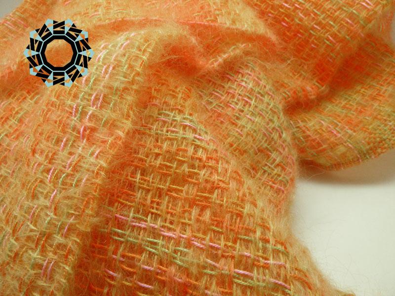 Mohair XL scarf / Moherowy szalik XL by Tender December, Alina Tyro-Niezgoda